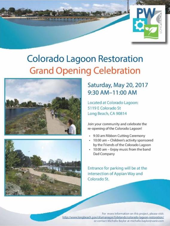 Colorado Lagoon Restoration Grand Opening Celebration